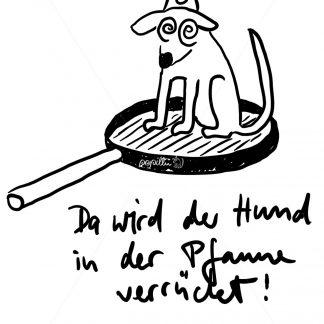 Da wird der Hund in der Pfanne verrückt! - Papillu