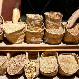 Gewürze auf den Märkten Marrakeschs - Papillu