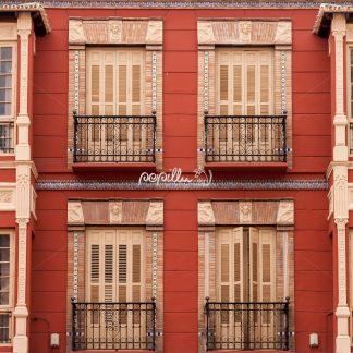 Hausfront – Malaga – Spanien - Papillu