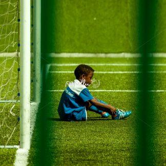 Junge Fussballer – Spanien - Papillu