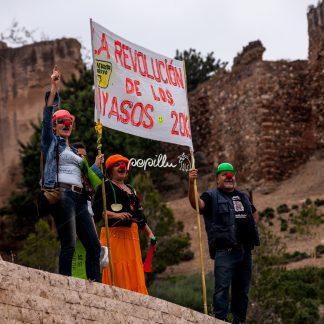 La Revolucion Demo –  Spanien – Malaga - Papillu