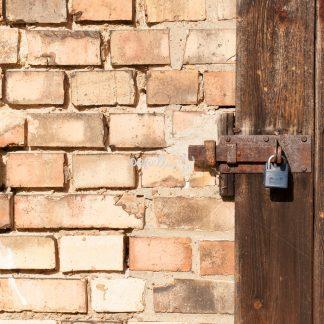 Mauer mit Tür - Papillu