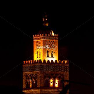 Moschee bei Nacht - Papillu