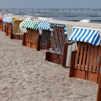 Ostsee – Darß- Strandkörbe - Papillu