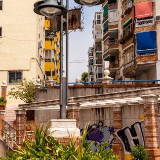Straßenlaterne – Spanien – Malaga - Papillu