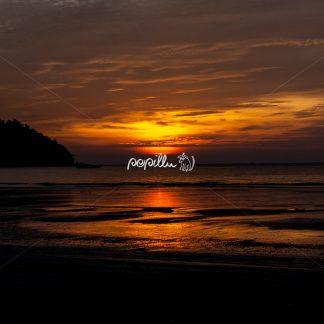 Sunset Beach Ko Chang Thailand - Papillu
