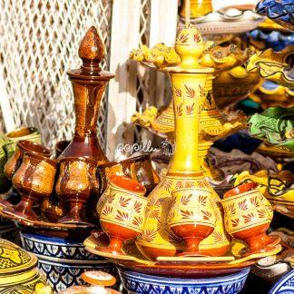 Töpferwaren in Safi II - Papillu
