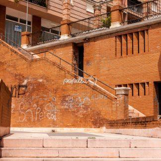 Treppe – Malaga – Spanien - Papillu