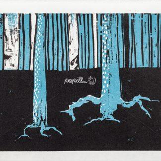 durch den Wald - Papillu