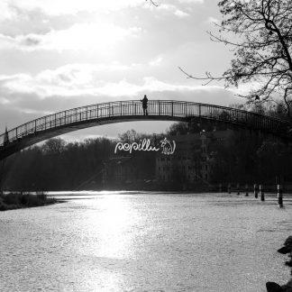 Forstwerder Brücke – Halle / Saale - Papillu´ Lampen Design, Grafik und Fotografie