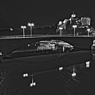 Giebichtenstein Brücke - Papillu´ Lampen Design, Grafik und Fotografie