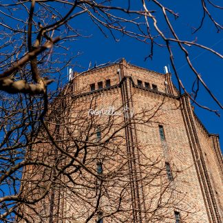 Wasserturm Süd Halle Saale - Papillu