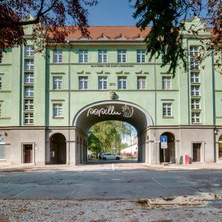 Wohnanlage Lutherplatz, Lutherplatz, - Papillu