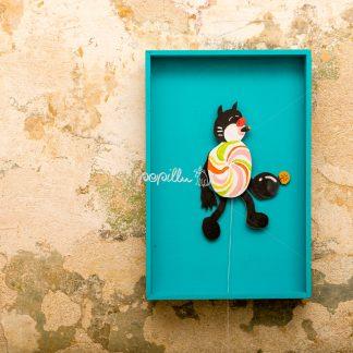 "Hampelkater ""Karlo"" - Papillu´ Lampen Design, Grafik und Fotografie"