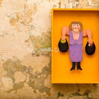 Gewichtheberin - Papillu´ Lampen Design, Grafik und Fotografie