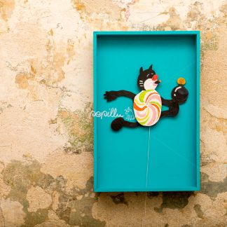 Hampelkater Karlo - Papillu´ Lampen Design, Grafik und Fotografie
