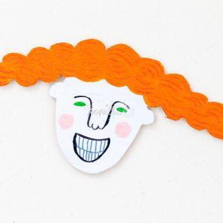 Funny Faces Holzmagnete - Papillu´ Lampen Design, Grafik und Fotografie